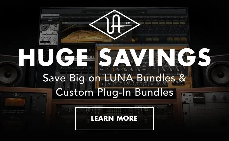 Universal Audio promotions and deals