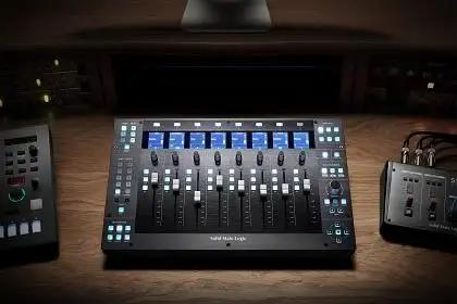 Taking Control Of Your DAW With The SSL UF8 Control Surface
