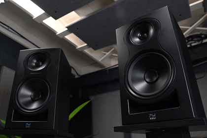 Win A Pair Of Kali Audio IN-8 Studio Monitors From Vintage King