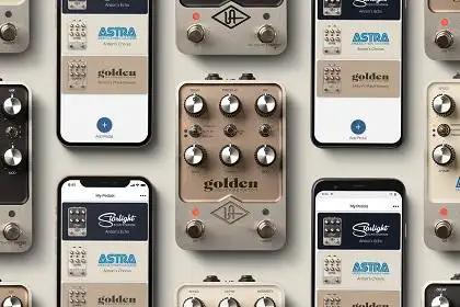 New UAFX Control App Unlocks Mobile Command Of Universal Audio Pedals