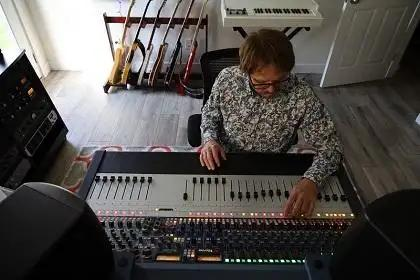 Brian Alston Brings Home Iconic Sound With Neve 8424 Console