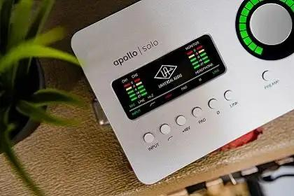 Win A Universal Audio Apollo Solo Interface From Vintage King
