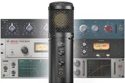 Antelope Audio Axino Synergy Core Takes Next Step In Modeling Microphones