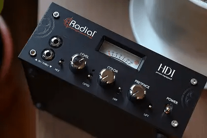 Going Direct In With The Radial Engineering HDI Direct Box