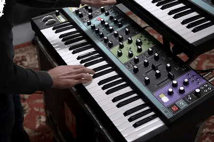 Classic Sounds/Future Sounds With Moog Matriarch And Grandmother