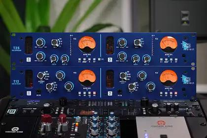 Tracking & Mixing With The API Select T12 Dual-Channel Mic Pre & T25 Dual-Channel Compressor